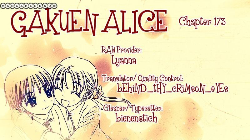 Gakuen Alice 173 Page 1