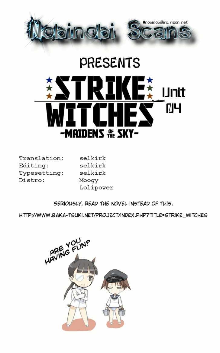Strike Witches: Tenkou no Otometachi 4 Page 1