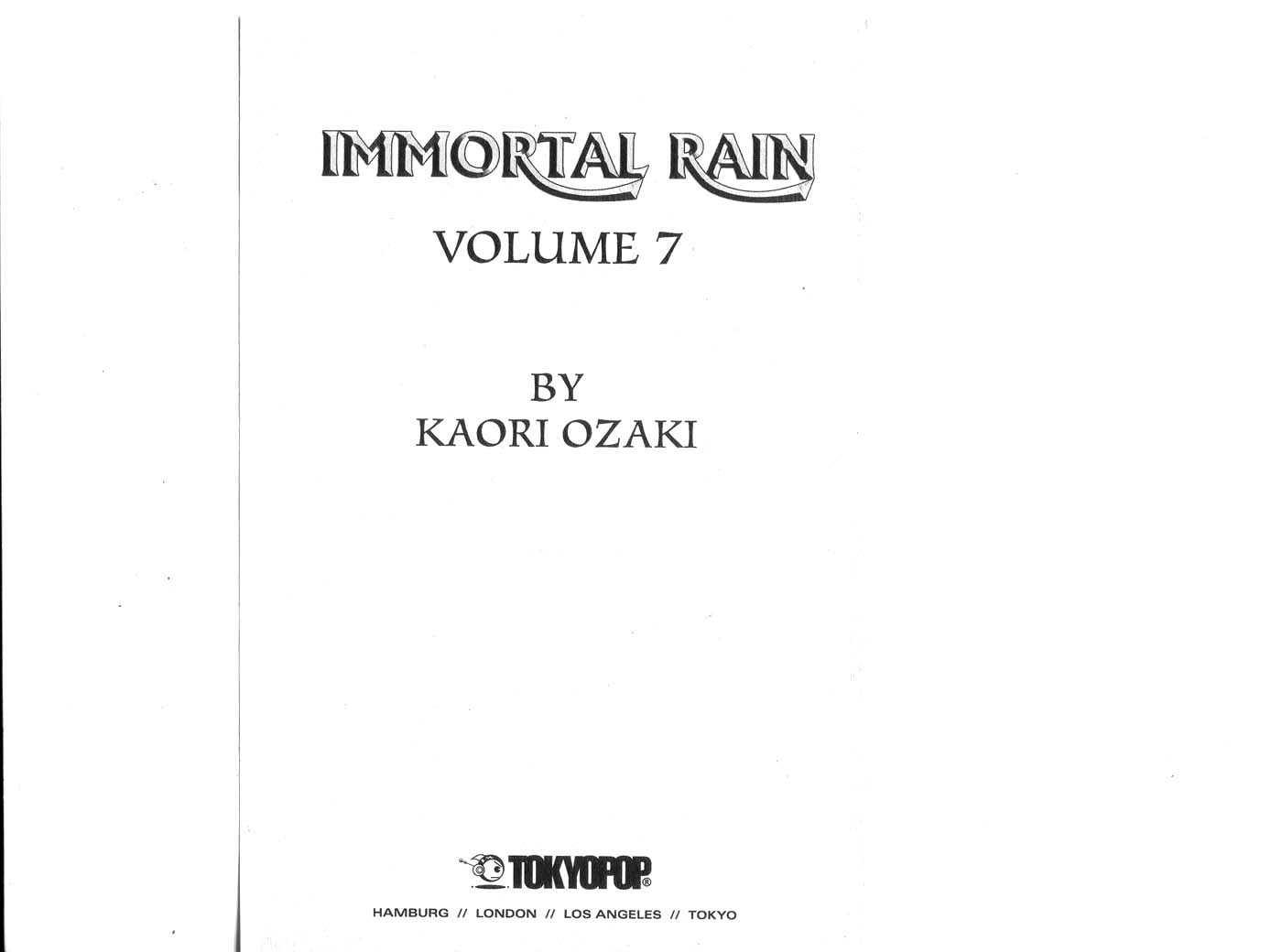 Immortal Rain 29 Page 2