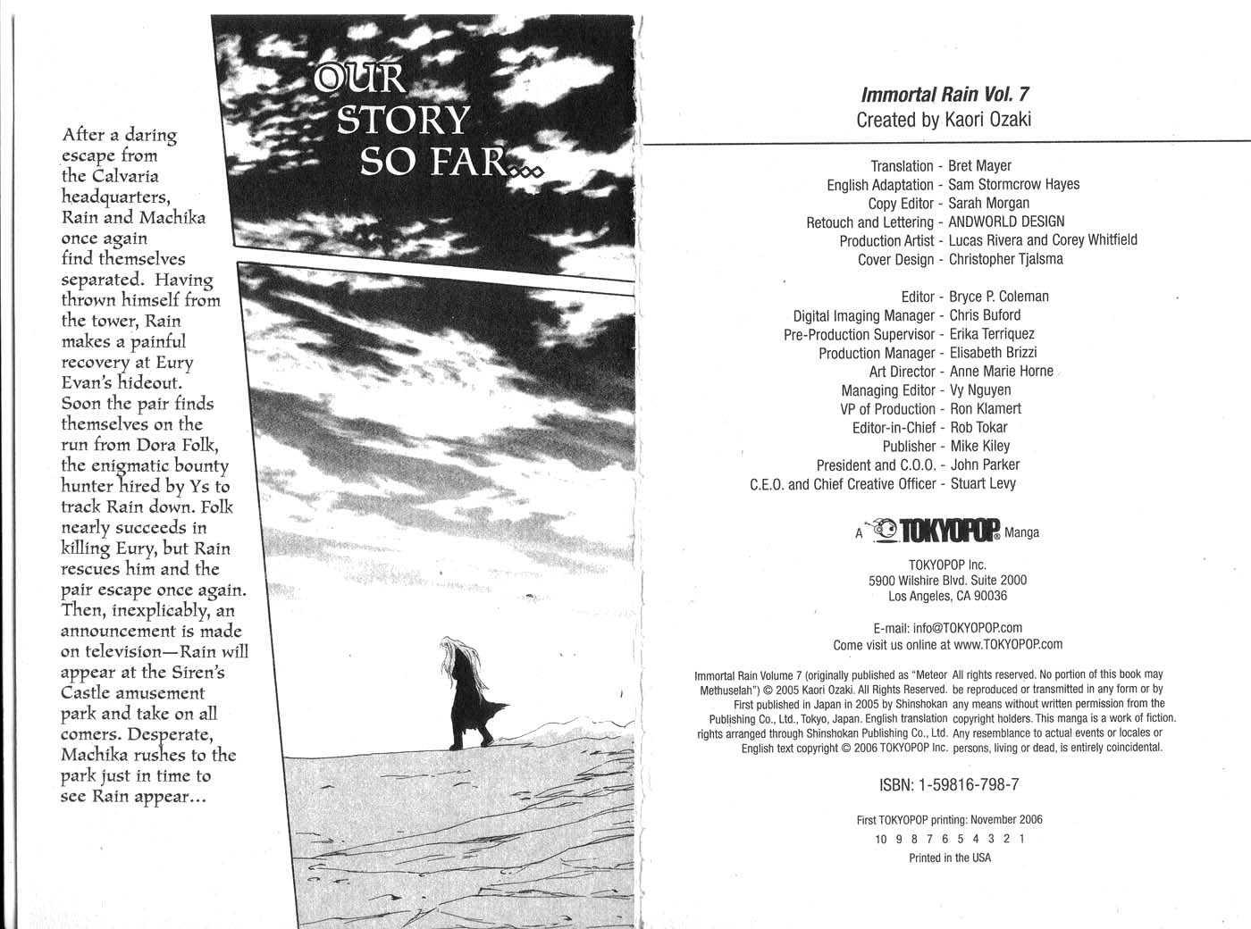 Immortal Rain 29 Page 3
