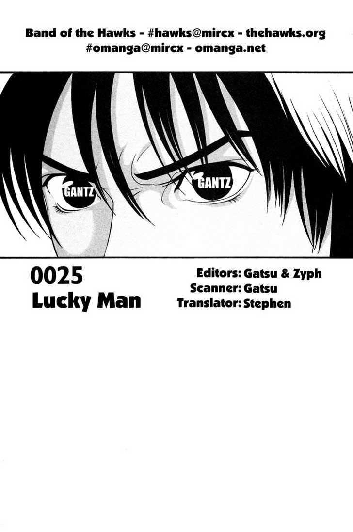 Gantz 25 Page 1