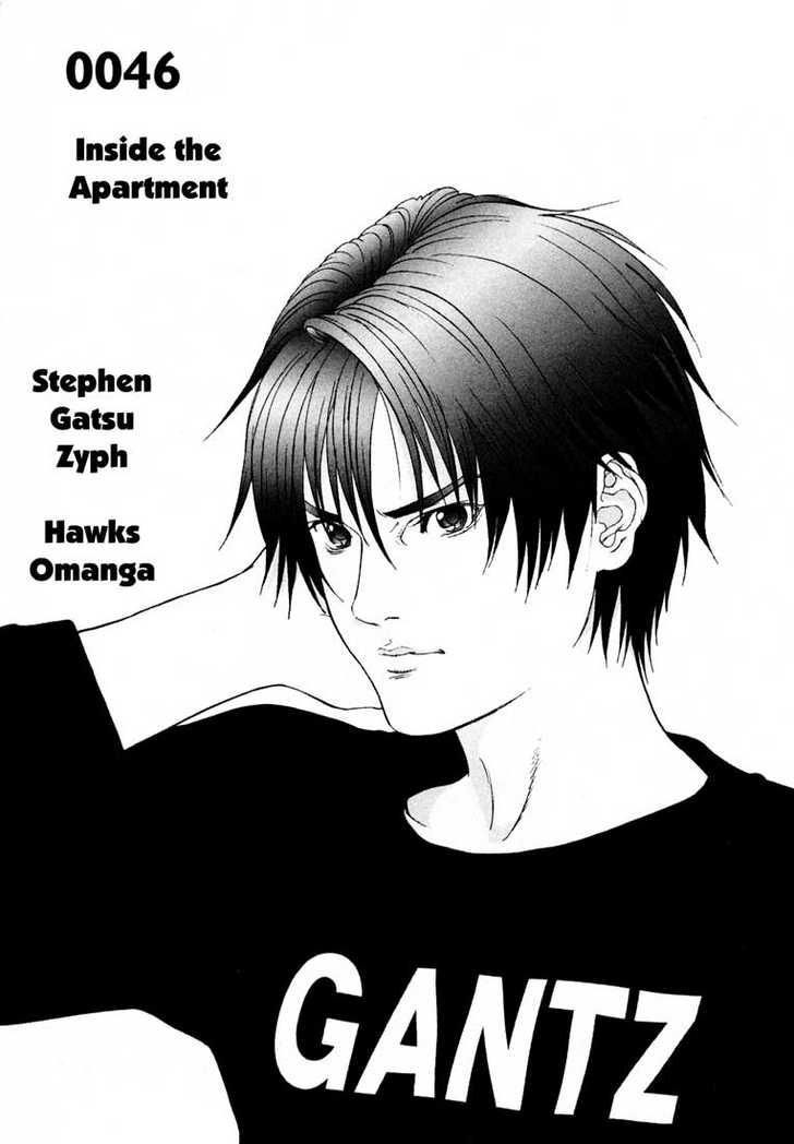 Gantz 46 Page 1