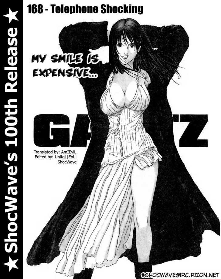 Gantz 168 Page 1