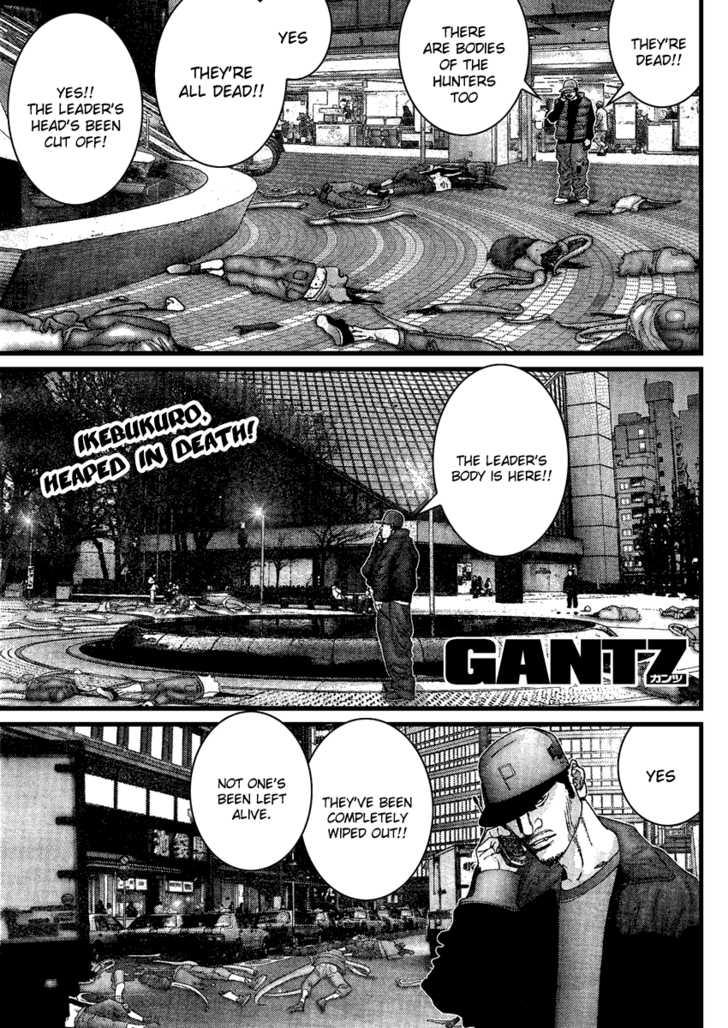 Gantz 206 Page 1