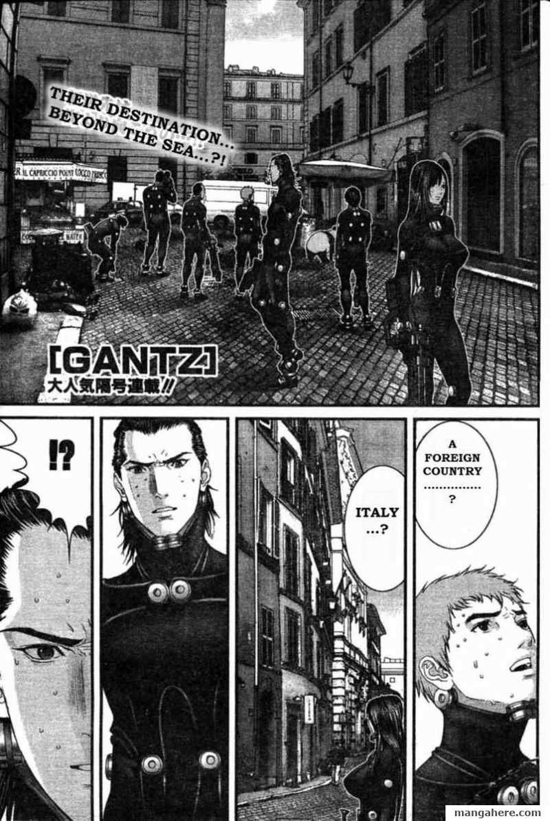 Gantz 291 Page 1