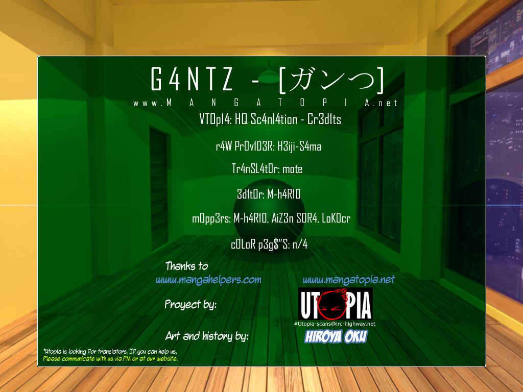 Gantz 326 Page 1