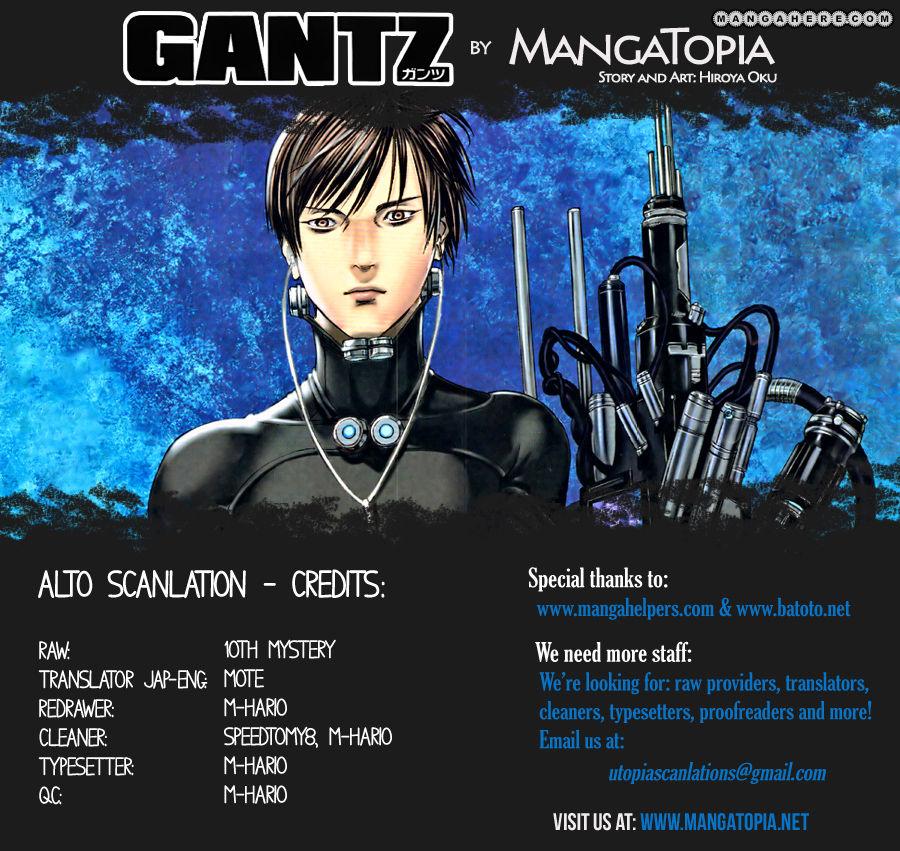 Gantz 371 Page 1