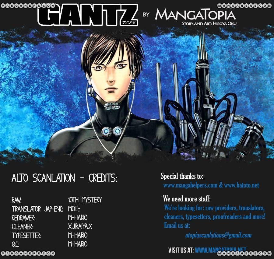 Gantz 376 Page 1
