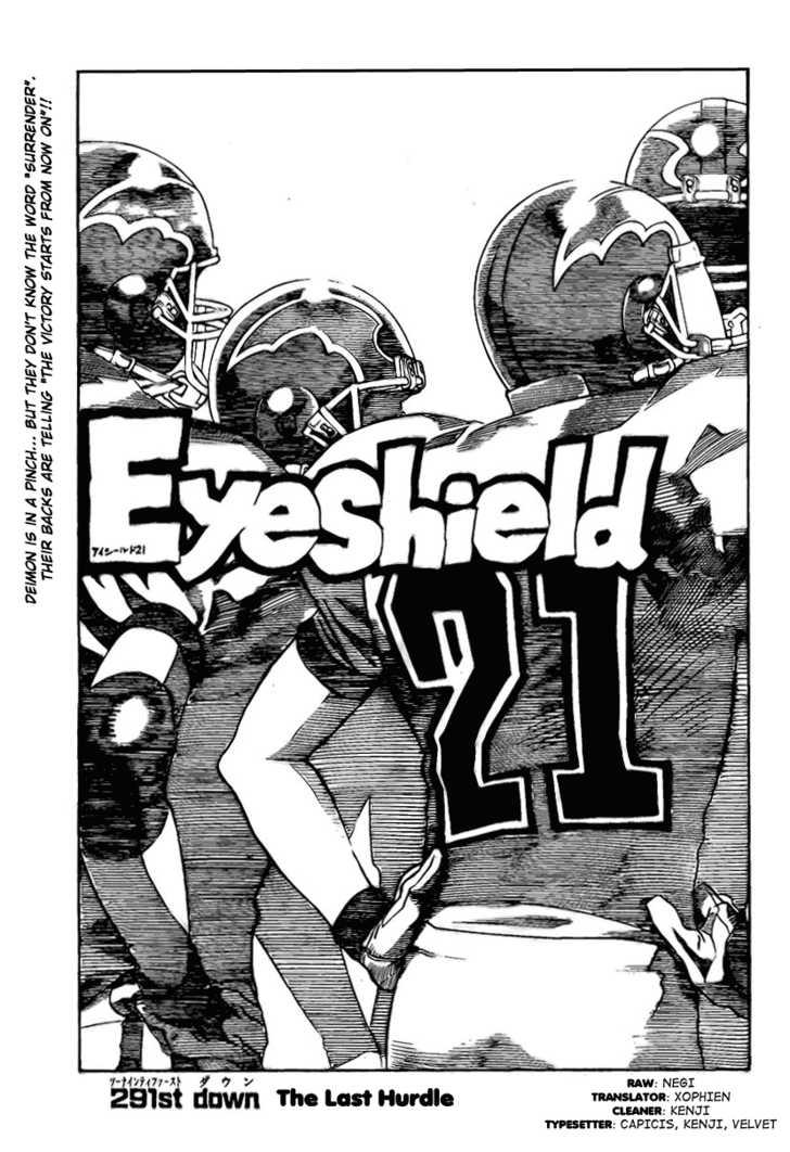 Eyeshield 21 291 Page 1