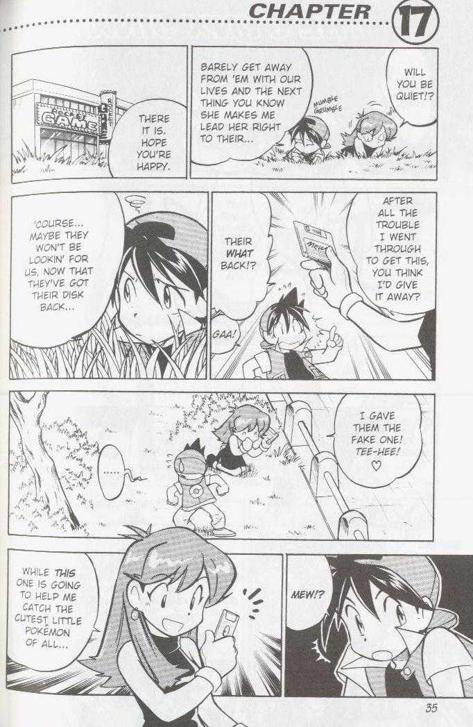 Pokemon Adventures 17 Page 1