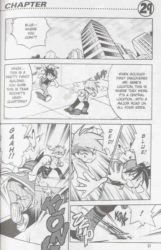Pokemon Adventures 29 Page 1