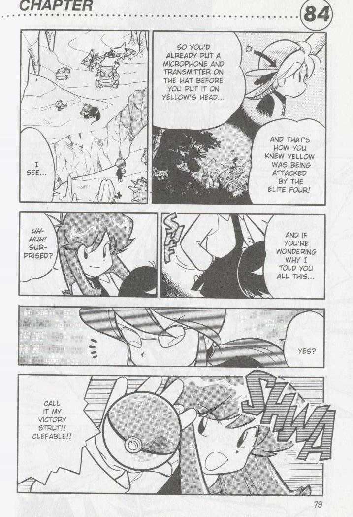 Pokemon Adventures 84 Page 1