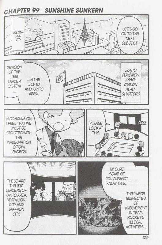 Pokemon Adventures 98 Page 1