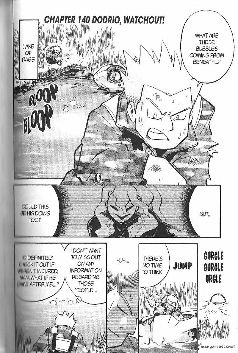 Pokemon Adventures 140 Page 1