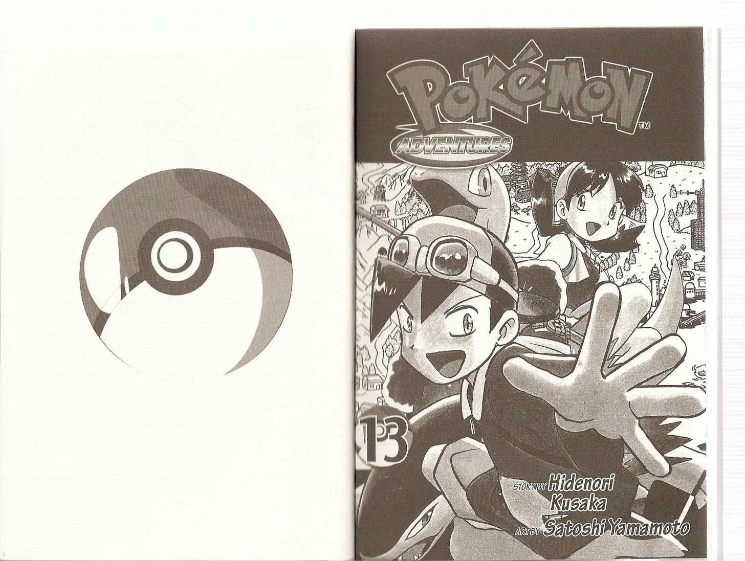 Pokemon Adventures 155 Page 1