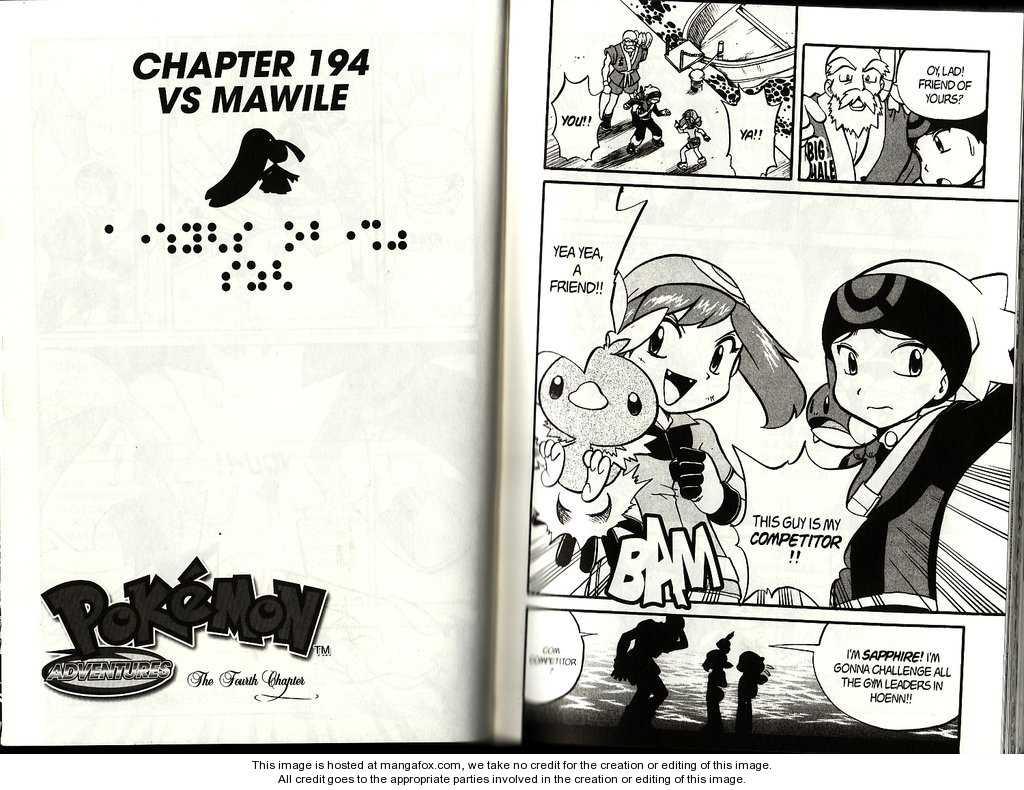 Pokemon Adventures 194 Page 1