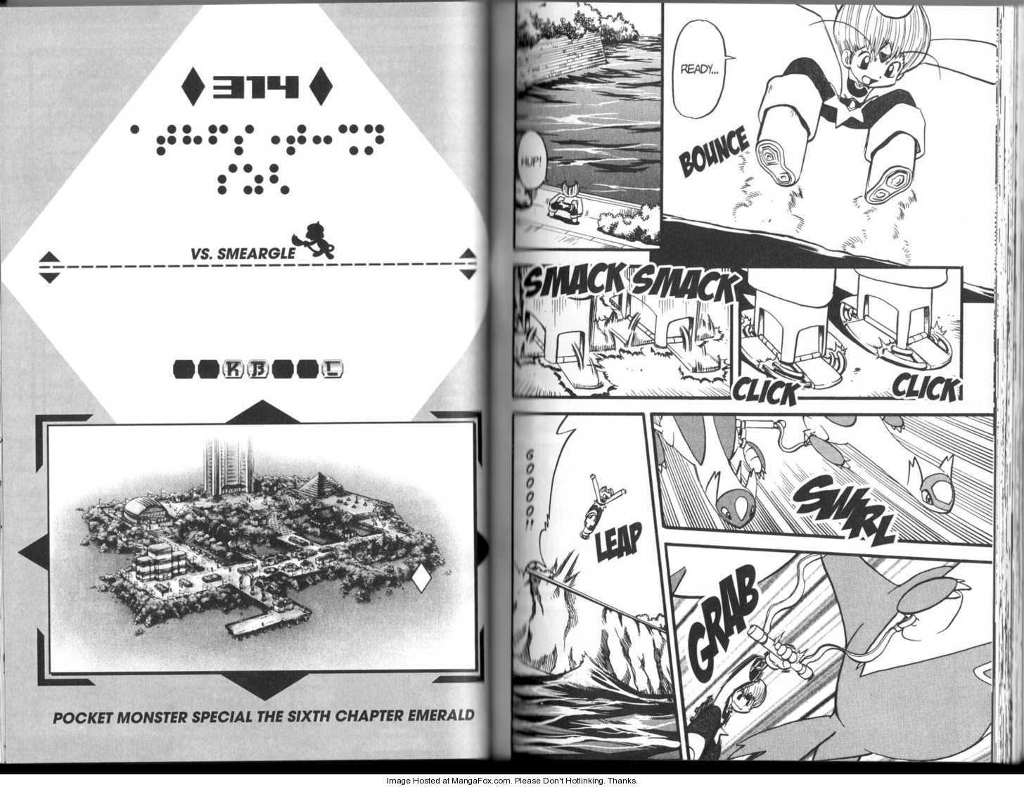 Pokemon Adventures 314 Page 1