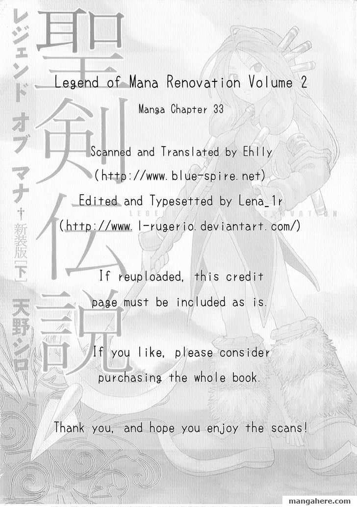 Seiken Densetsu: Legend of Mana 33 Page 1