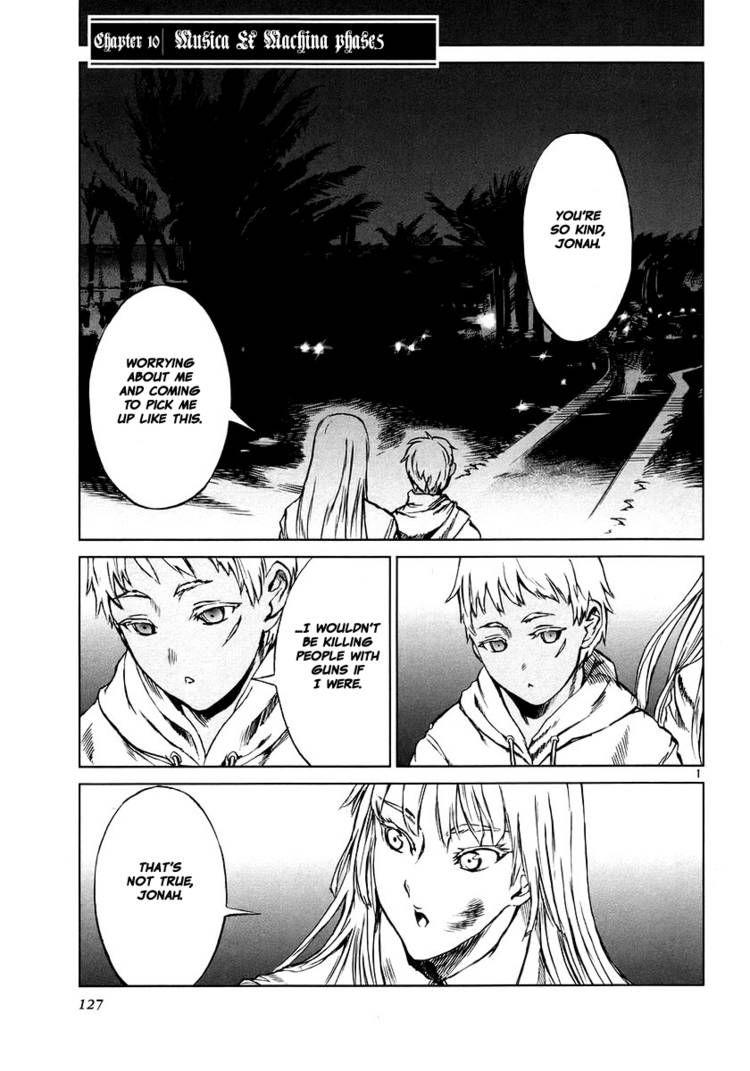 Jormungand 10 Page 1