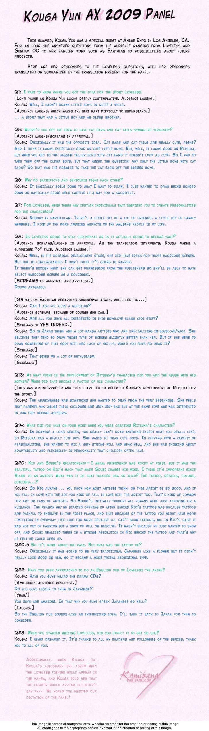 Loveless 19 Page 1