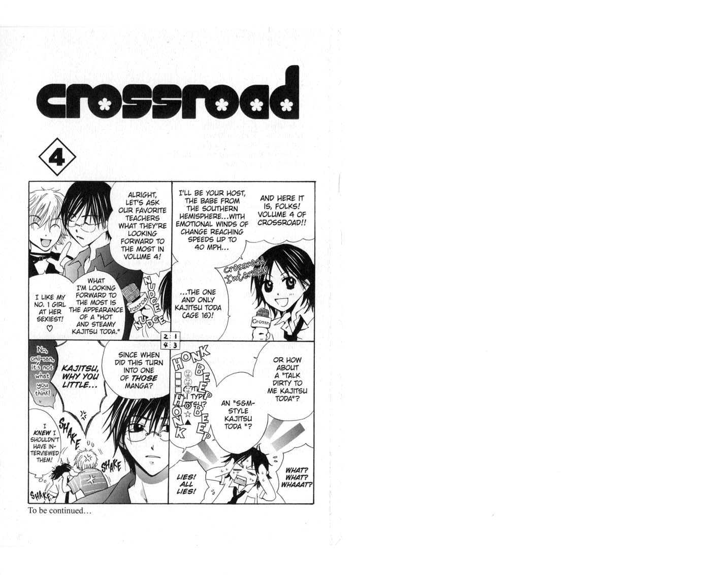 Crossroad 0 Page 1