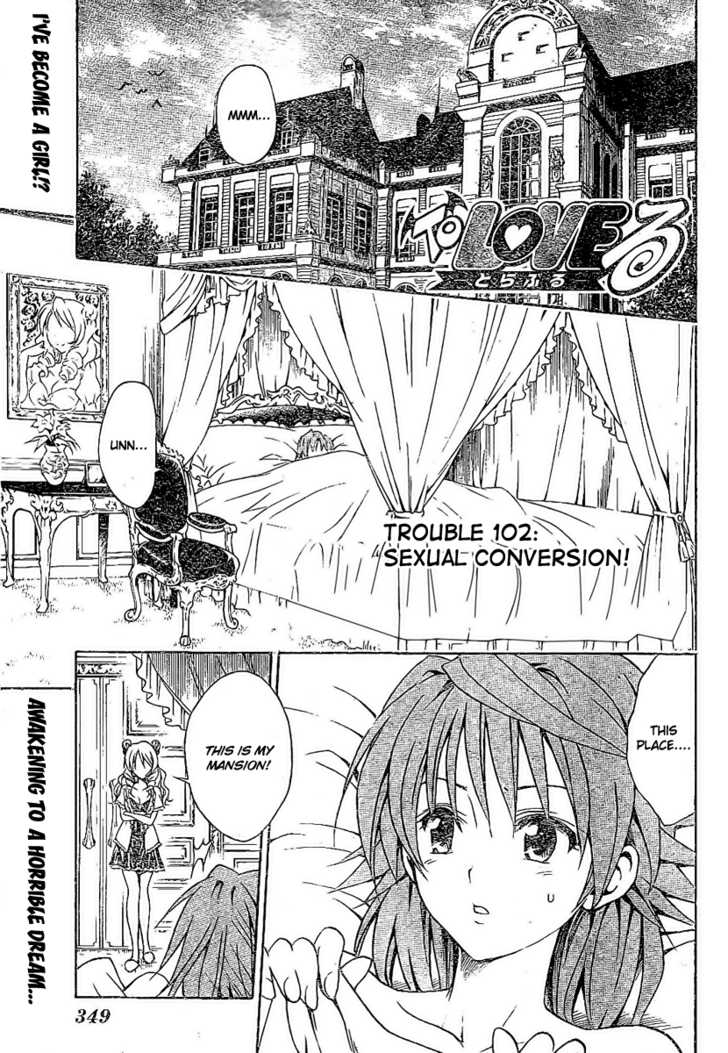 To LOVE Ru 102 Page 1