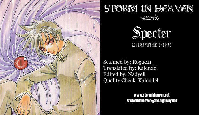 Specter 5 Page 1