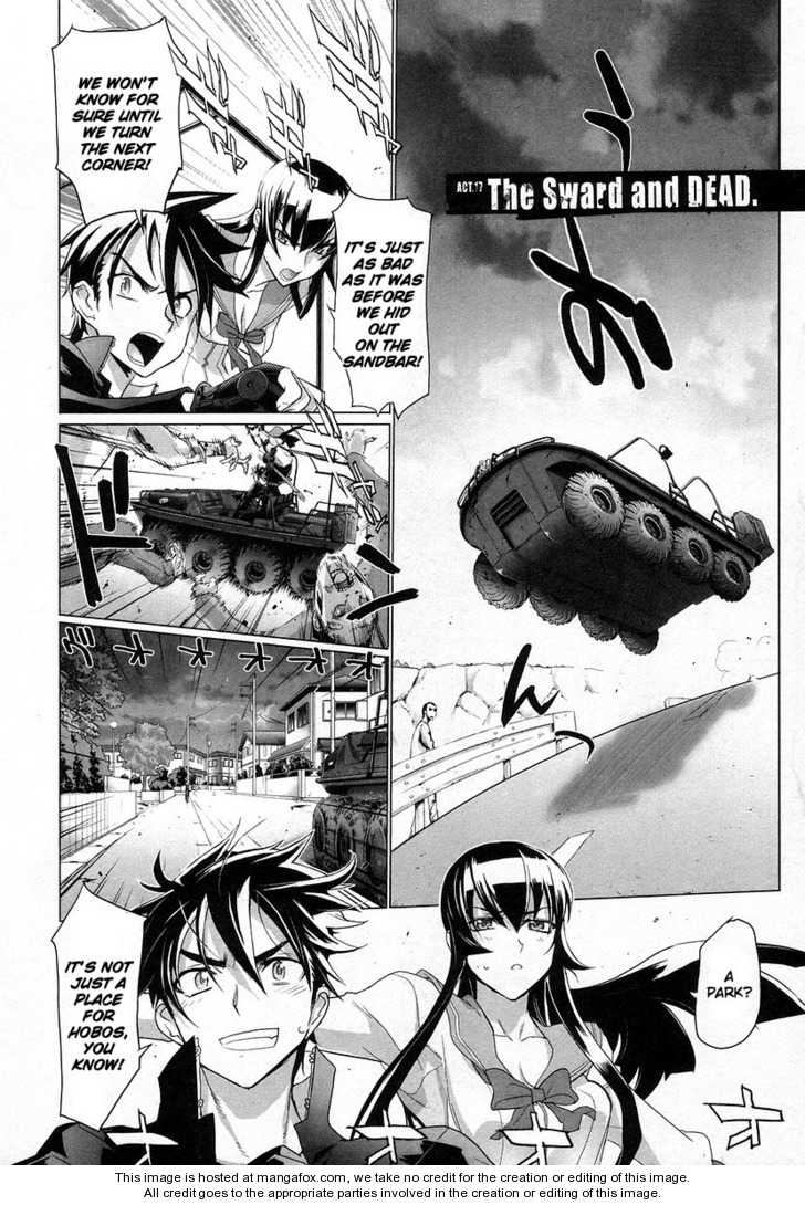 High School of the Dead 17 Page 2