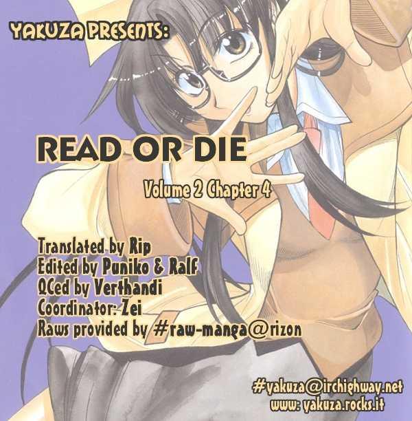 Read or Die 4 Page 1