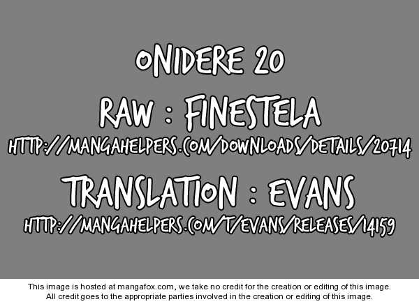 Onidere 20 Page 1