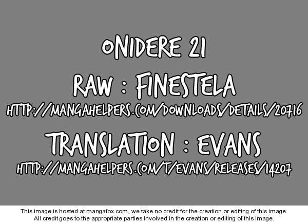 Onidere 21 Page 1