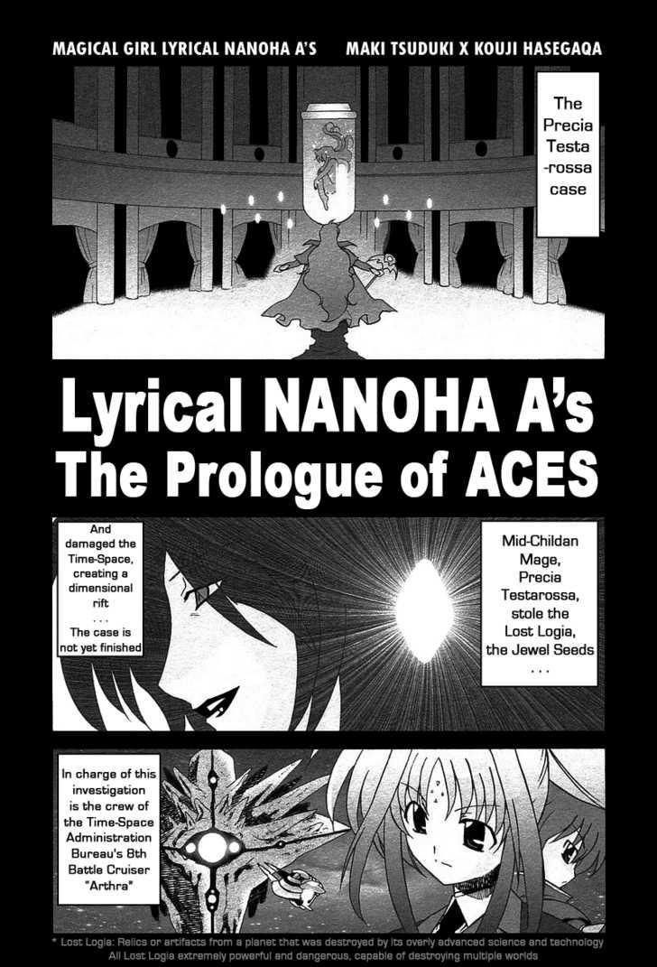 Mahou Shoujo Lyrical Nanoha A's 1.1 Page 2