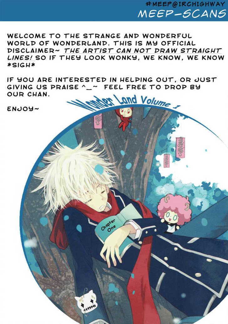 Wonder Land 1 Page 1