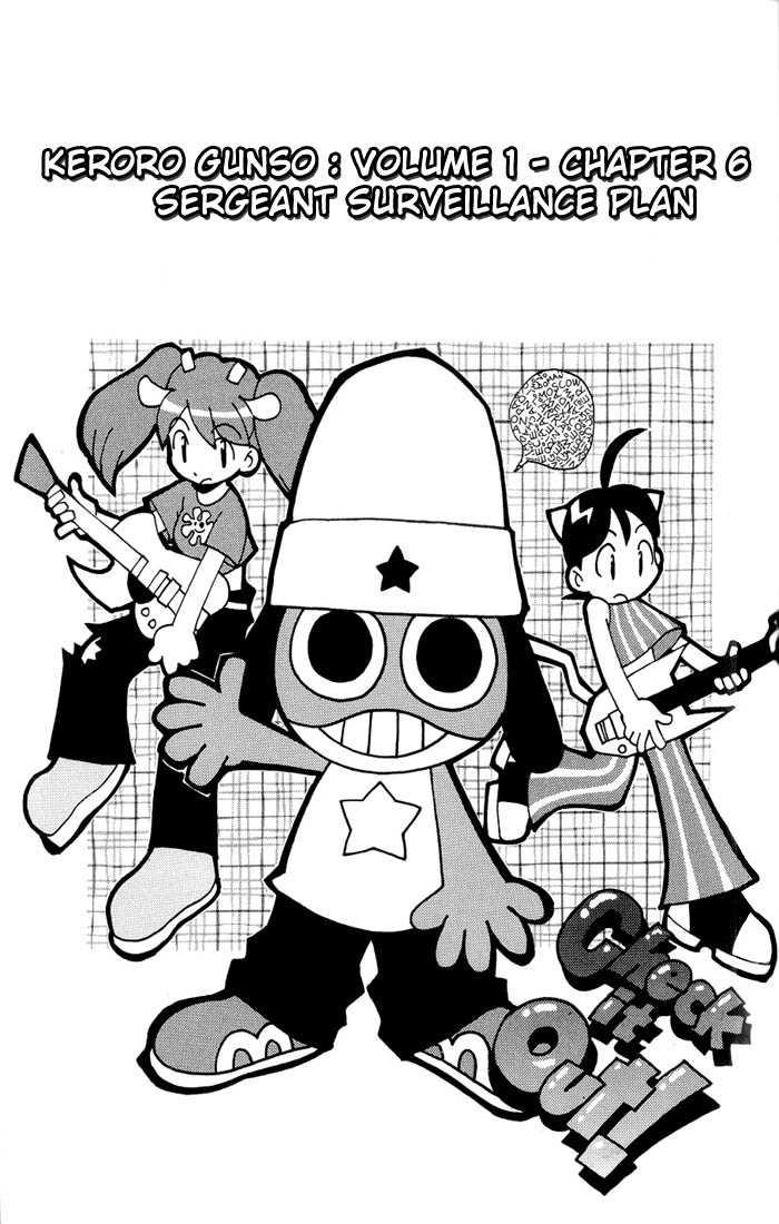 Keroro Gunsou 6 Page 1