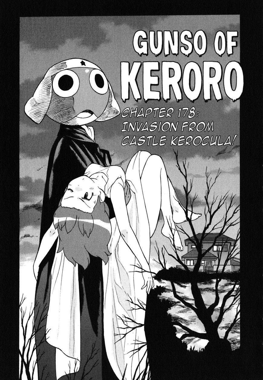 Keroro Gunsou 178 Page 1