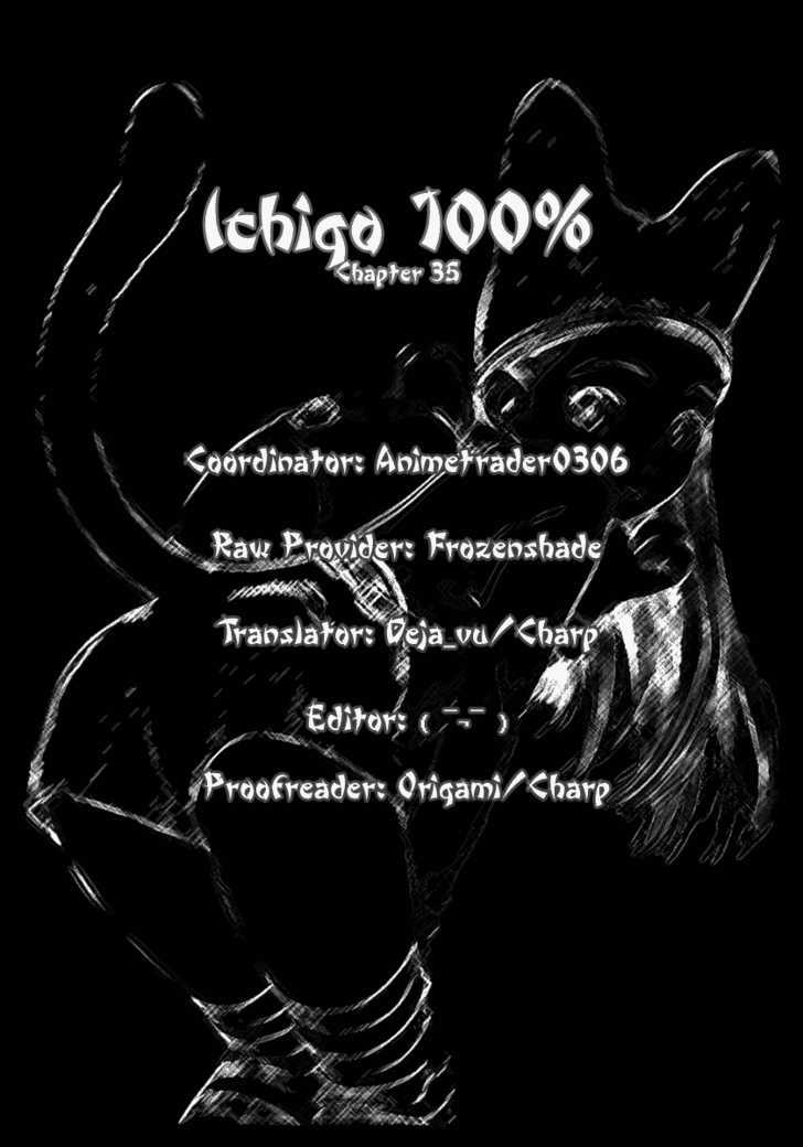 Ichigo 100% 35 Page 1