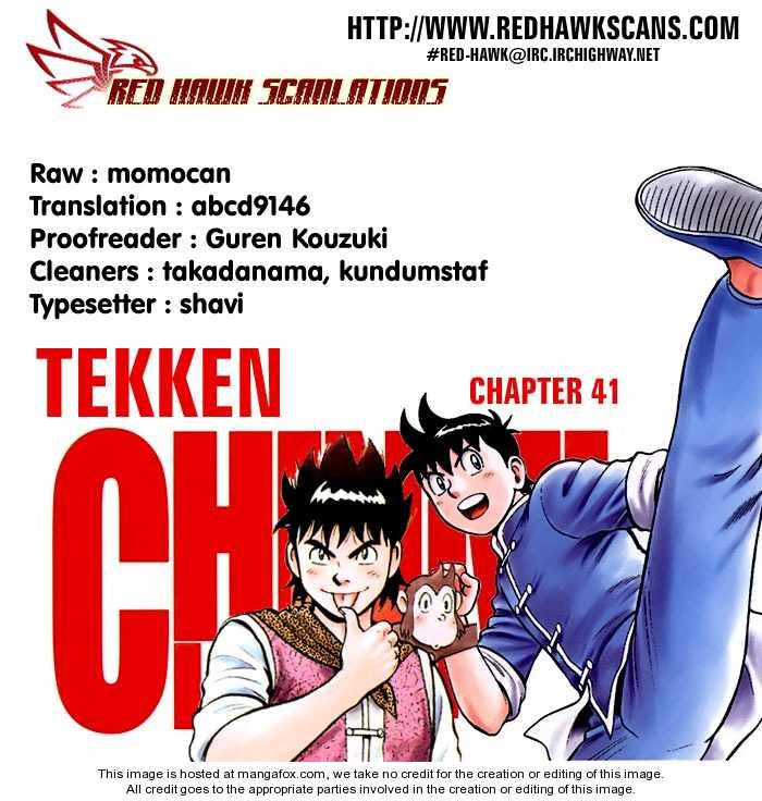 Tekken Chinmi Legends 41 Page 1