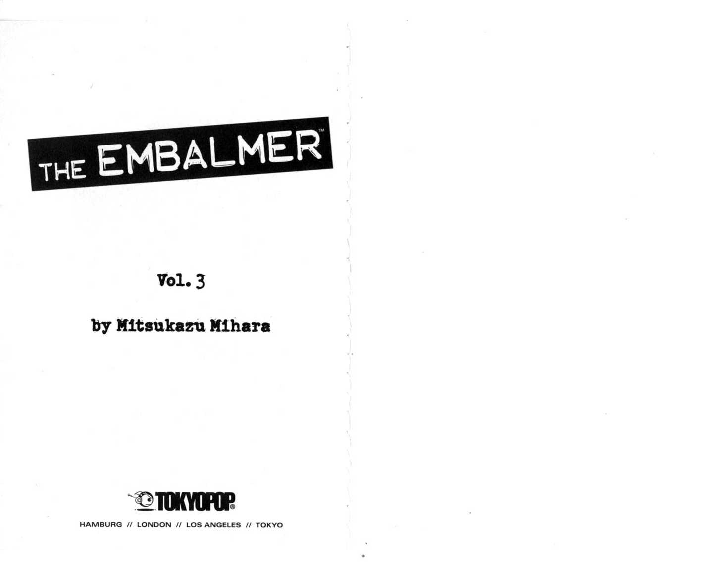 The Embalmer 0 Page 2