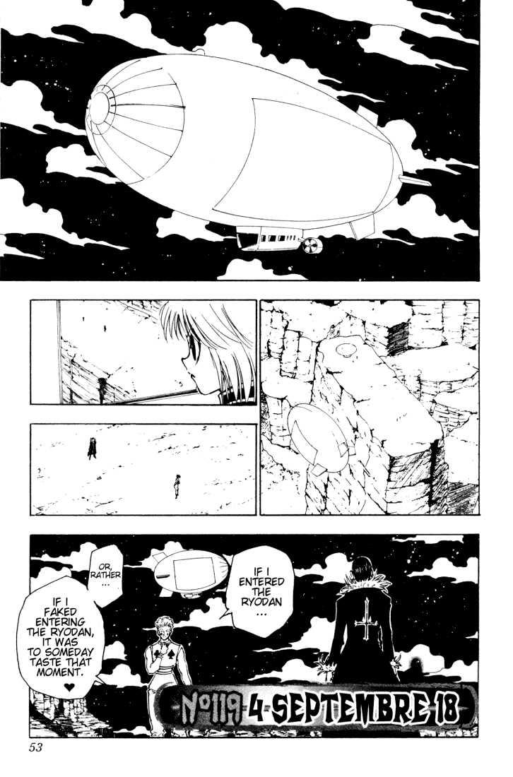 Hunter X Hunter 119 Page 1