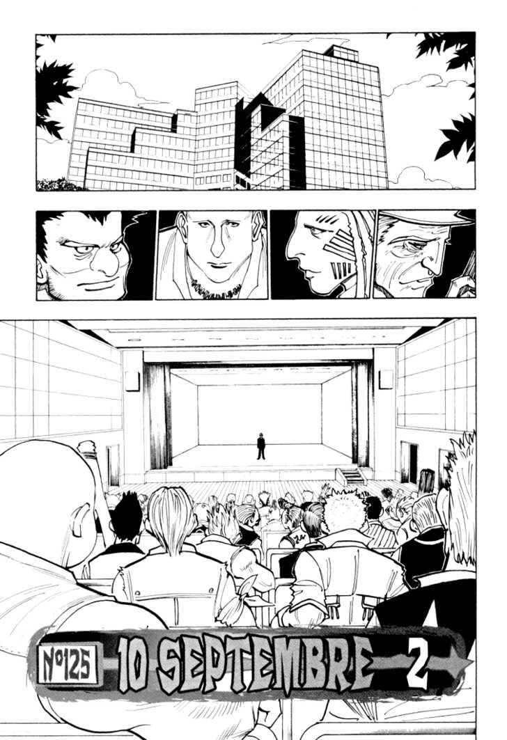 Hunter X Hunter 125 Page 1