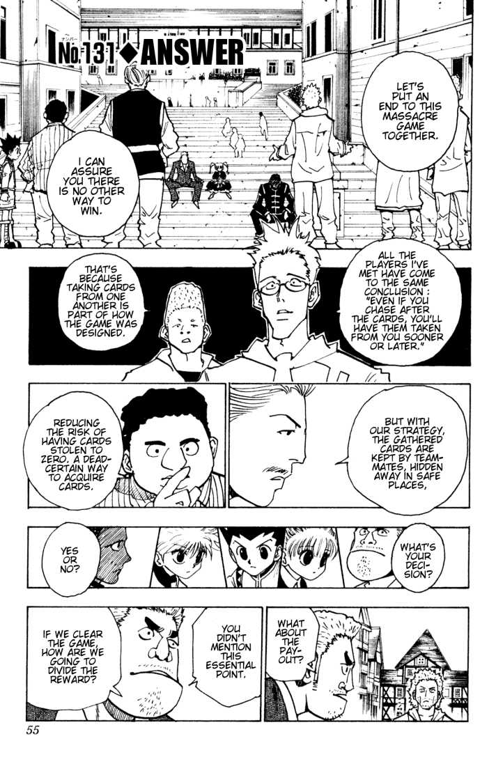 Hunter X Hunter 131 Page 1