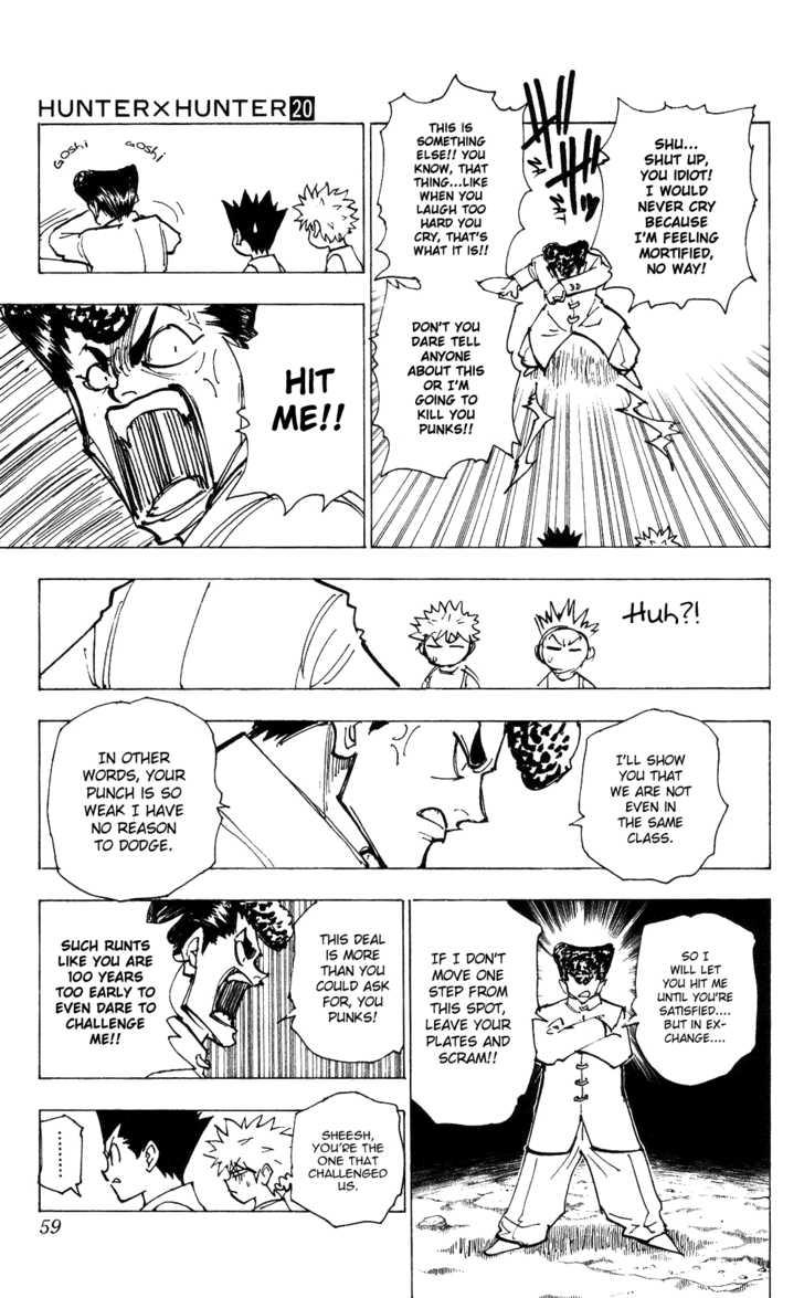 Hunter X Hunter 203 Page 4