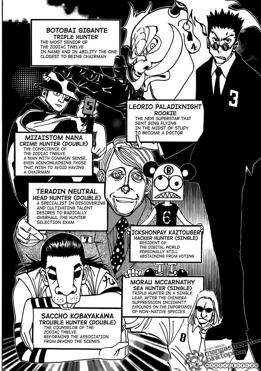 Hunter X Hunter 326 Page 3