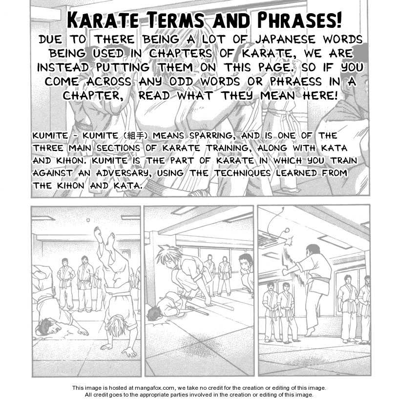 Karate Shoukoushi Kohinata Minoru 41 Page 1