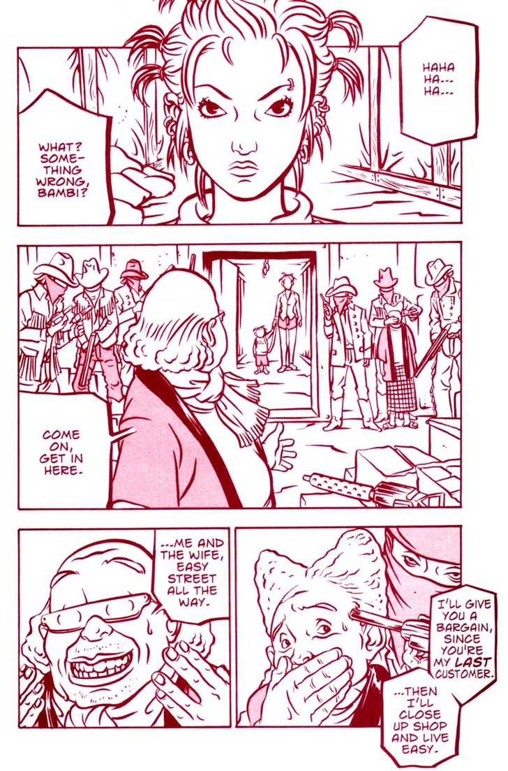 Bambi and Her Pink Gun 8 Page 2
