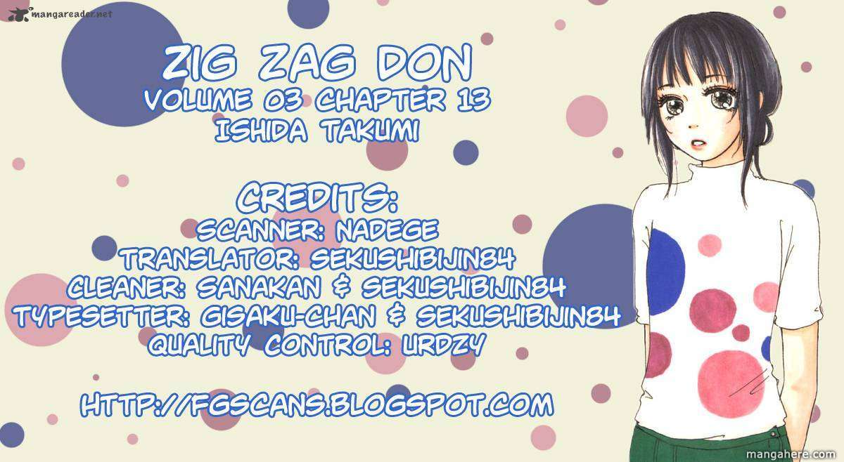 Zig Zag Don 13 Page 1