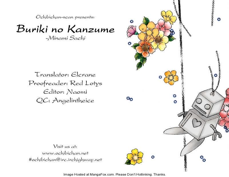 Buriki no Kanzume 2 Page 1
