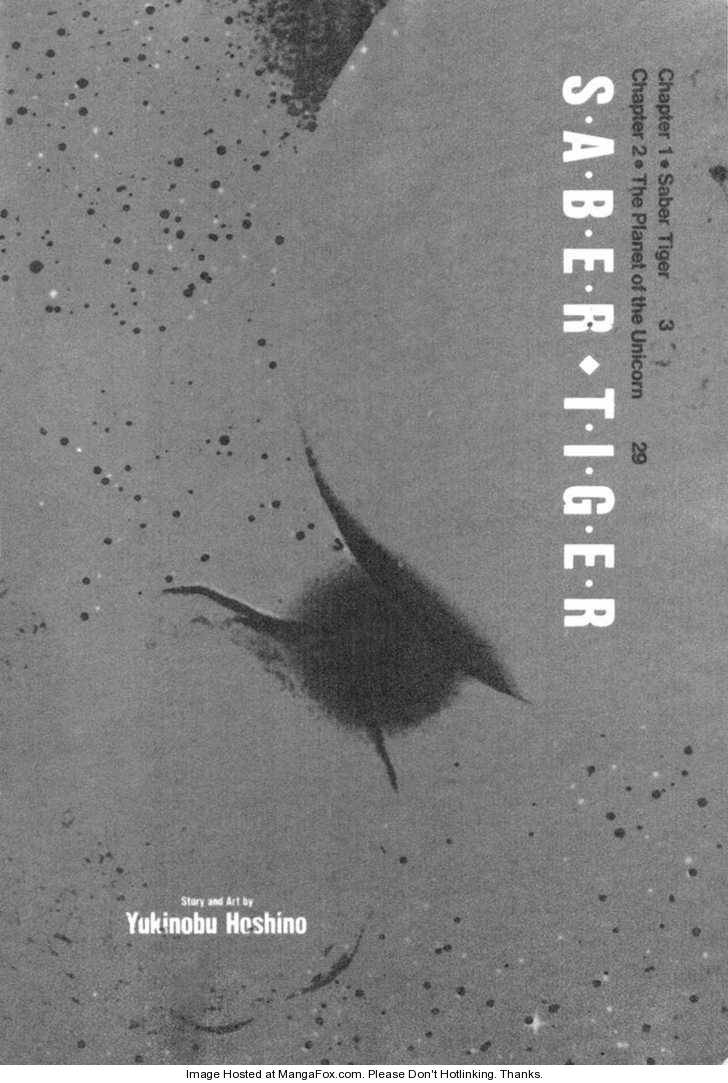 Saber-Tiger 1 Page 1