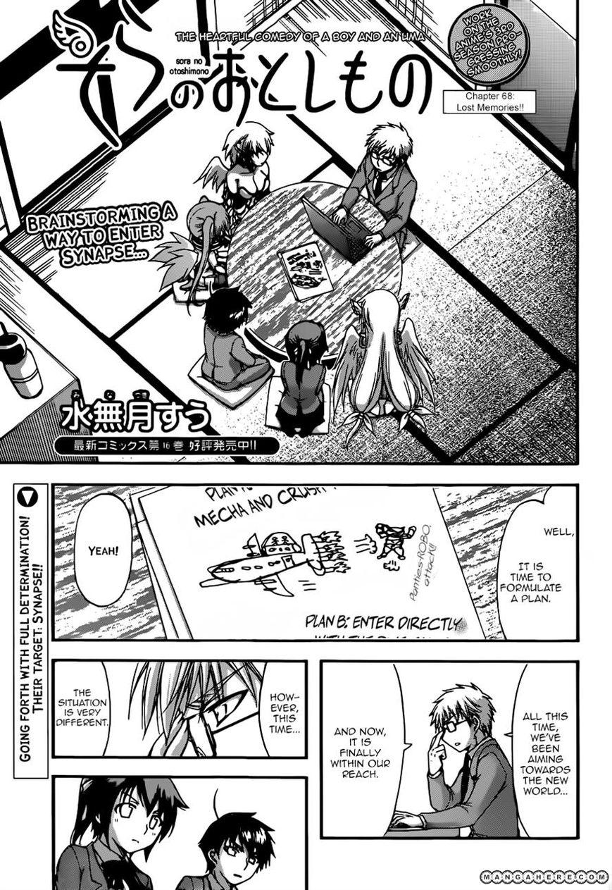 Sora no Otoshimono 68 Page 1