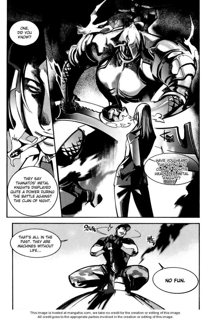Cavalier of the Abyss 16 Page 2